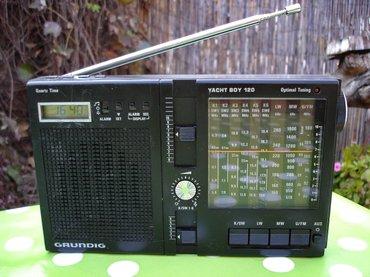 Tranzistor - Srbija: Stari nemački radio tranzistor grundig yacht boy 120, proizveden u