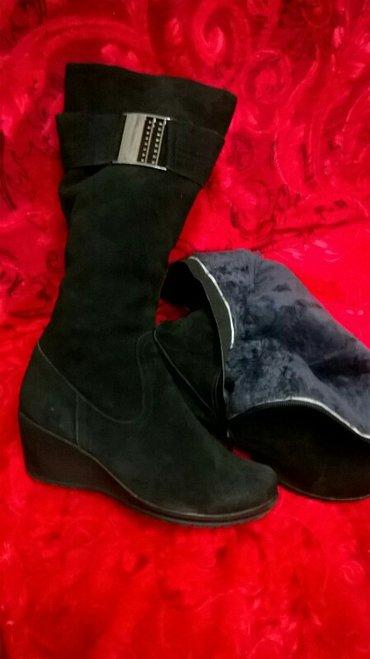 сапоги зимние замшевые, демисезонные , ботинки замшевые в Кант