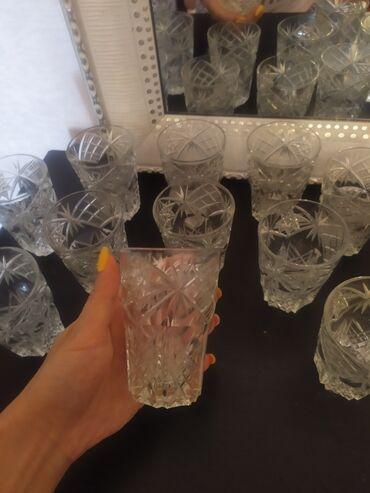12 yaşlı oğlan üçün in Azərbaycan | UŞAQ KÖYNƏKLƏRI: Qədimi sok stekanlari satılır.12 ededdir.qalindir xrustaldir