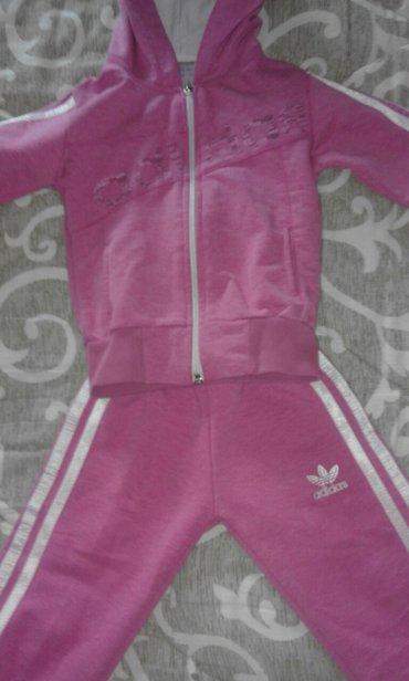 Adidas haljine - Srbija: Adidas trenerka pamucna,nosena svega par puta. Vel 3-ka