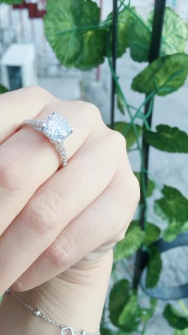 Кольцо род бриллиант. Серебро 925  в Бишкек