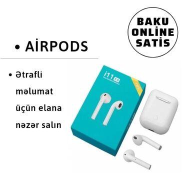 Airpods, bluetooth qulaqliq qulaqliq,elektronikaXüsusiyyət:Bluetooth