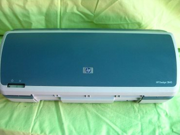 Продаю Принтер HP Deskjet 3845 Струйный принтер, черно-белый. в Кара-Балта