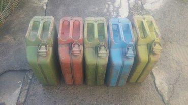 продаю канистры под бензин 20 и 40 литров цена 400 и 800 сом в Бишкек