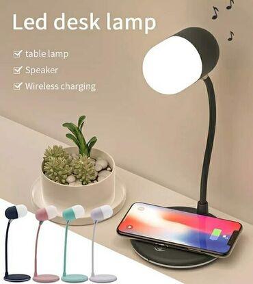3u1 Lampa Punjenje telefona na njojTakodje preko ove lampe mozete