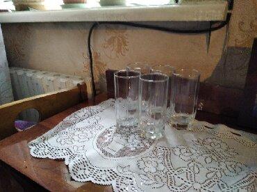 Стаканы чешские - Кыргызстан: Продам стаканы турецкие5шт