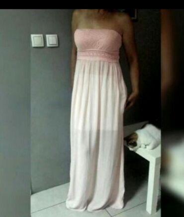 Divna duga haljinaNovo odličan kvalitet i model uvoz Turska br S-M