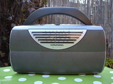 Tranzistor - Srbija: Kvalitetan radio prijemnik grundig music boy 70, lepo očuvan i potpuno