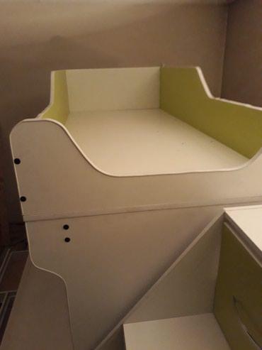 lenne 122 в Кыргызстан: Двухъярусный кровать размер 190/122 190/80см +комод
