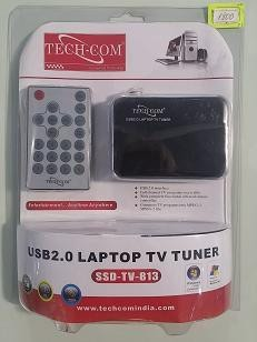 тв тюнеры electronic в Кыргызстан: ТВ-тюнер TECH-COM SSD-TV-813 USB2.0 LAPTOP TV TUNERразвлечения . в