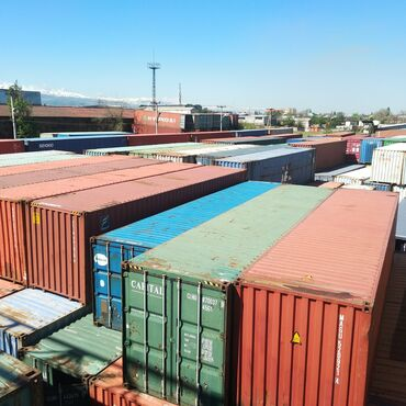 купить пластиковый шифер в бишкеке в Кыргызстан: Контейнер Контейнера контейнеры 20футт 40футт 45футтт в Бишкеке морски