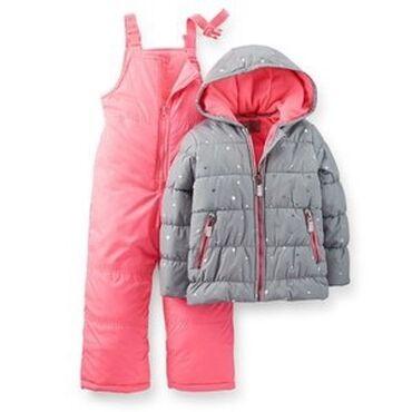 Зимний комбинезон картерс, состоящий из куртки и