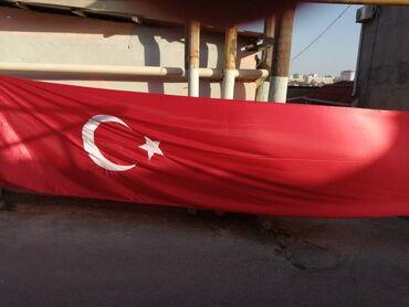 41 elan   BAYRAQLAR: Türk bayrağı satılır  Ölçü 1.5×6m Real alıcılara endrim olunacaq