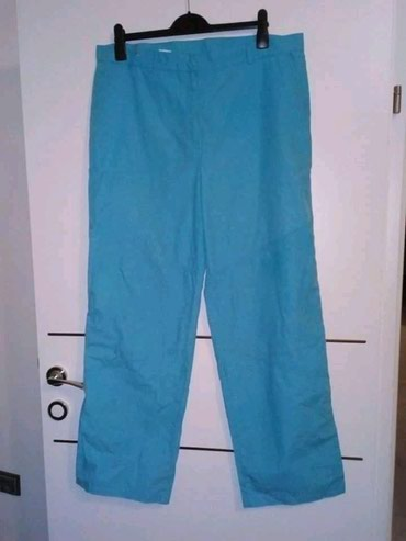 Pantalone,kao trenerka,struk 49 cm, tanke,kopcanje na driker. - Belgrade