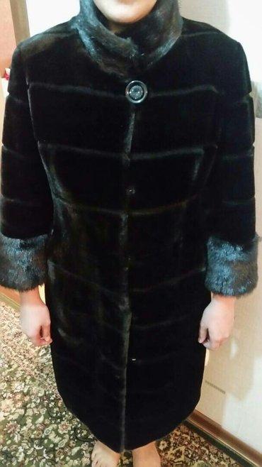 Продаю шубу мутон...размер 46,одевала 1 раз  в Бишкек