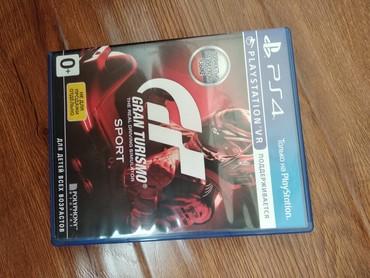 """Игра на PlayStation 4 """"Gran Turismo Sport"""". В в Бишкек"""