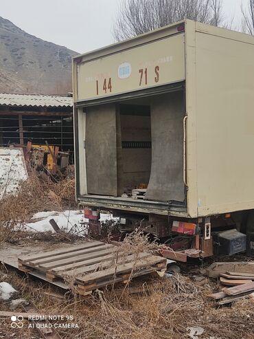 Грузовой и с/х транспорт - Кыргызстан: Ивеко холодильник Надо делать матор и электрику и панель холодильник