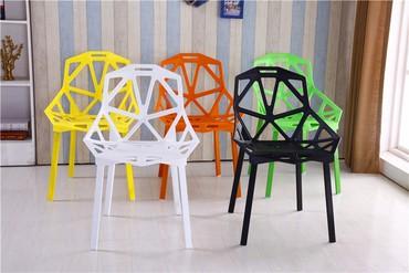 Современный стул на заказ.Материал:металл,пластик.Цвет: белый,черный,к