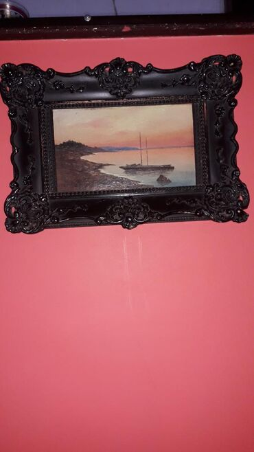 Slike | Crvenka: Prelep drveni ram ocuvan i slika