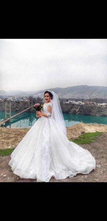 Сдаю очень красивое свадебное платье в Кара-Балта