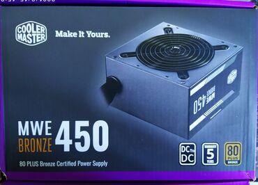 Продаю новый блок питания Cooler Master MWE 450w Bronze сертификат