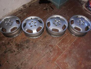 купить титановые диски на ниву в Кыргызстан: Срочно продаю титановые диски. 15 на мерседес