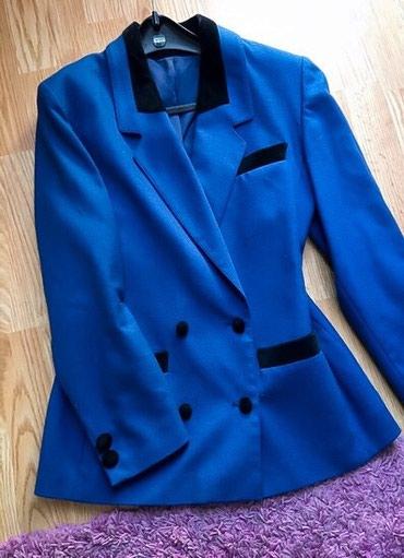 Like Balmain Kraljevsko-plavi potpuno novi sako/kaput, postava je - Bor