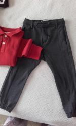 Ζεστο γκρι σκουρο παντελονι zara για παιδακι μεχρι 4 ετων (μεγιστο