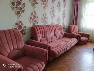 Продаю раскладной диван и 2 кресла, фабричный, состояние хорошее