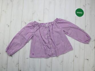 Женская блузка в полоску Polo,р.S    Длина: 41 см Пог: 38 см Рукава: 4