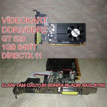 Videokart NVİDİA GT520 в Баку