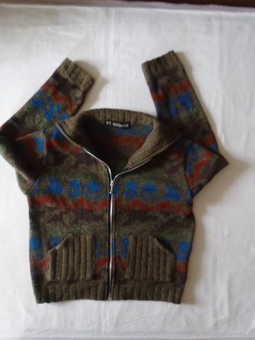 Alpha jakna - Srbija: Džemper/jaknica/duks ST. GEORGE, od mešavoine vune, angore alpaka i