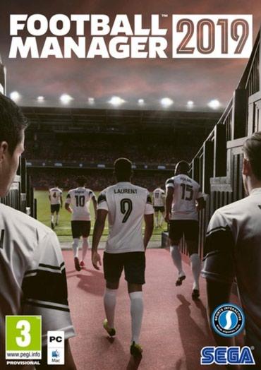 Sales manager - Srbija: Football Manager (2019) Igra za računar