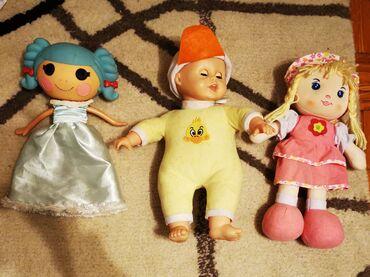 Set lutki za devojčicu, 2 lepo očuvane i jedna nova! Cena za sve 3