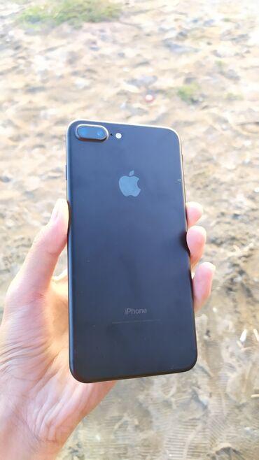 apple iphone a в Кыргызстан: Б/У iPhone 7 Plus 32 ГБ Черный