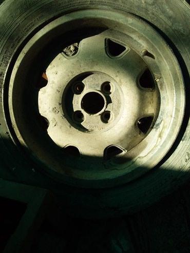 Диск с резиной фольц.Опель.на 15. 3500с. в Бишкек