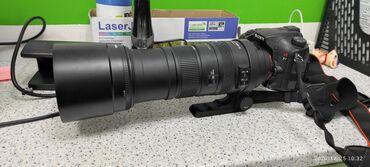 Видеокамера флешка - Кыргызстан: Продам фотоаппарат sony a77, с объективом sigma 150-500, в комплекте