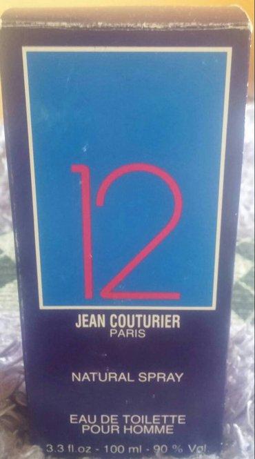 Haljina-pour-elle - Srbija: 12 Pour Homme by Jean Couturier EDT, 100mlMuški parfem 12 Pour Homme