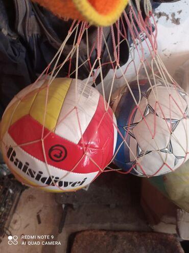 Спорт и хобби - Бактуу-Долоноту: Мячи футбольные,волейбольные. Чолпон-ата