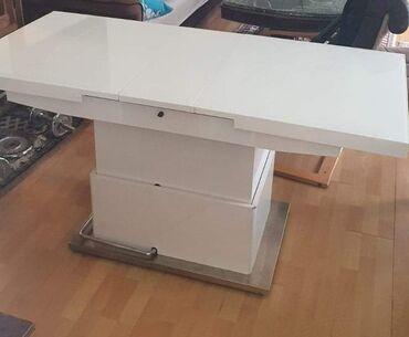 Ostalo | Sombor: Univerzalni sto koji se spusta,dize i razvlaci ima jedno ostecenje