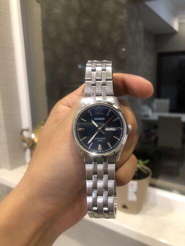 Серебристые Мужские Наручные часы Casio