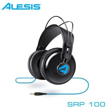Наушники: Alesis SRP100Компания Alesis представила студийные наушники
