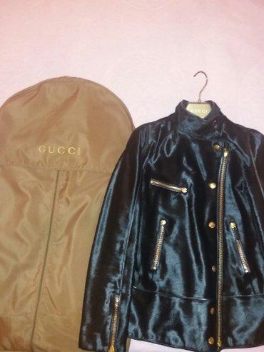 """куртка из чистого пони оригинал бренда """"GUCCI"""" своя цена очень дорогая в Бишкек"""