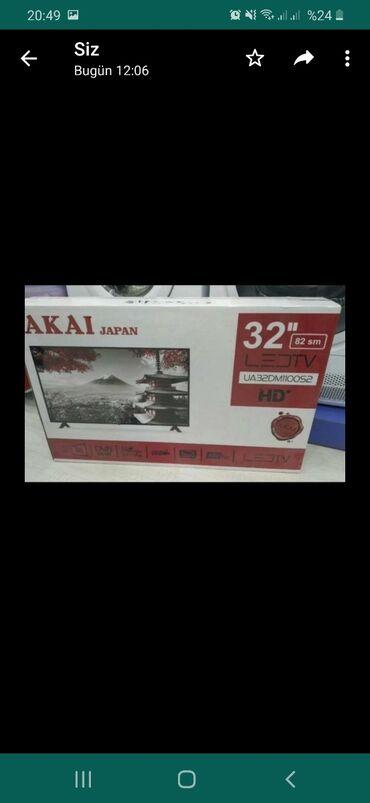 AKAİ firması televizor  82 diaqanal Led tv Qiyməti 280 manat