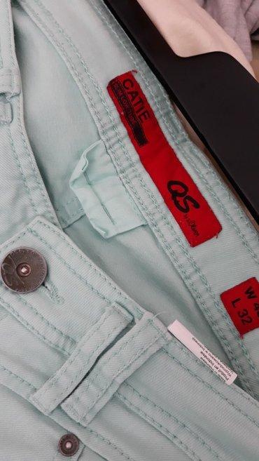 S. Oliver pantalone nove vel. 40 boja svetlo tirkizna. Imaju elastina! - Novi Sad