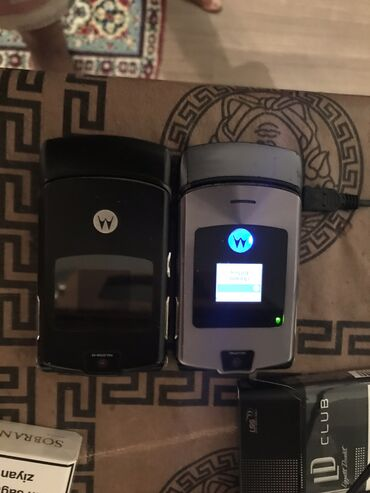Motorola - Azərbaycan: Biri isleyir biri islemir dudrduq yerde sonub. Kihne telelfonlarla