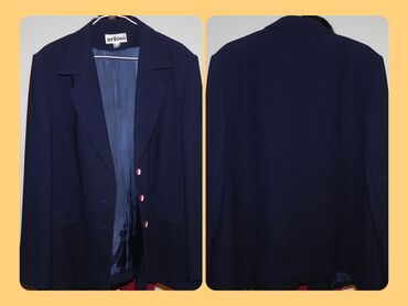 Женский классический костюм,темно синий цвет, 54 размера торг есть