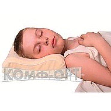 правильное постельное белье в Кыргызстан: Подушка ортопедическая комф-орт к-800 детская (3-х-слойная)подушка
