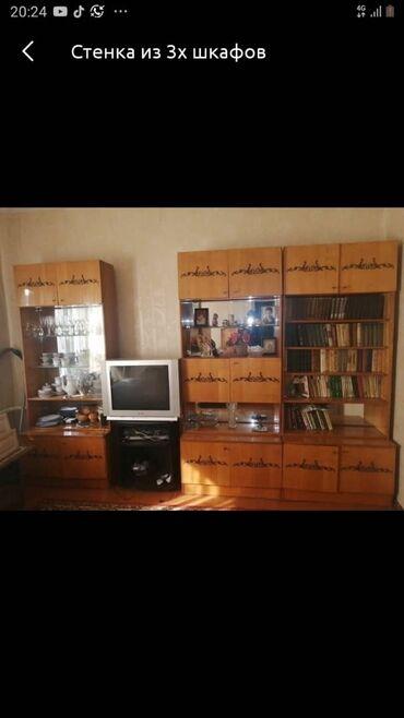 шкаф для посуды в Кыргызстан: Продаю 1 секцию от гарнитура для посуды ( остался крайний