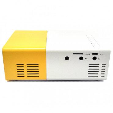 проектор-led в Кыргызстан: Мини LED проектор YG-300 (USB / TF / HDMI) +бесплатная доставка по